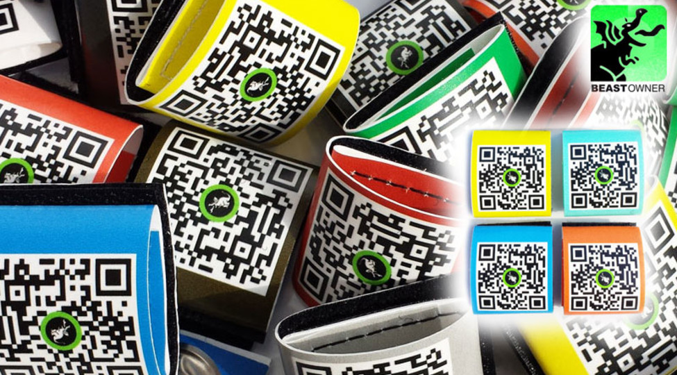 BeastTAG: Individual ID-TAGs with QR Code for your animals